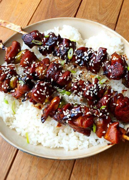recette simple de yakitori