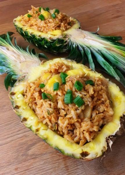 Riz à l'ananas
