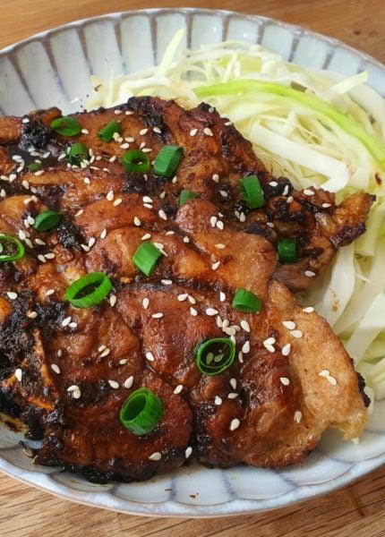Sauté de porc japonais